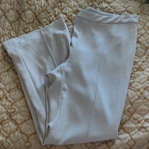 St. John Lilac Ankle Pants Size 4